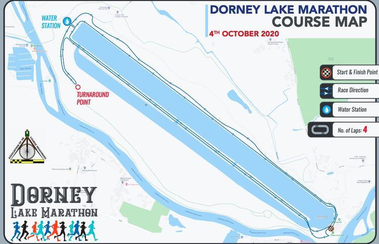 Dorney Lake ATW Marathon Course Map
