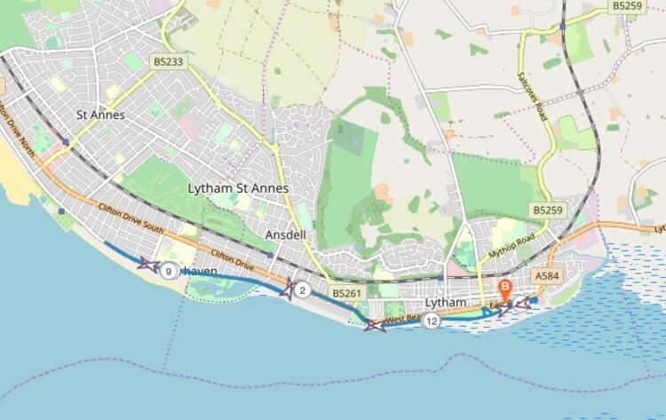 Windmill Half Marathon Race Route